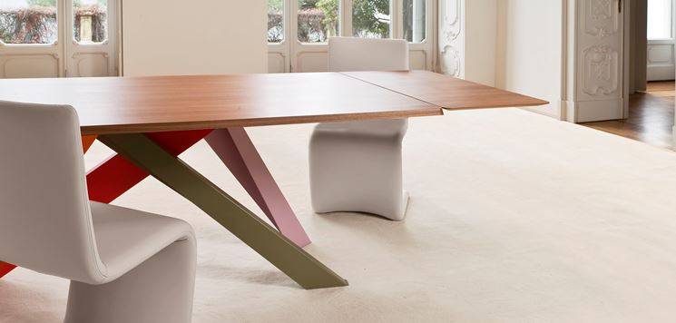 Tavoli allungabili tavoli tavoli allungabili multiuso for Tavoli moderni design allungabili