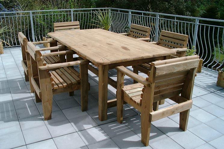 Tavoli da giardino tavoli - Arredamento da esterno economico ...