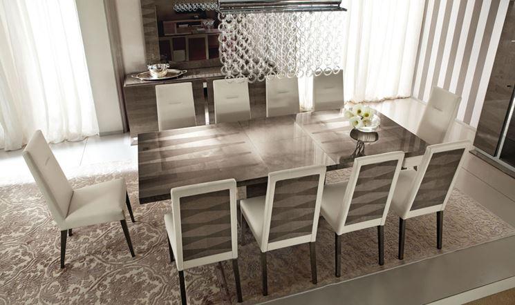Tavolo da soggiorno moderno sedie da cucina moderne | Ocrav