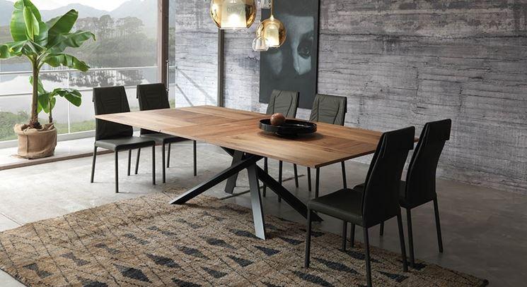 Tavoli da pranzo tavoli tipologie di tavolo da pranzo for Tavoli da pranzo allungabili di design