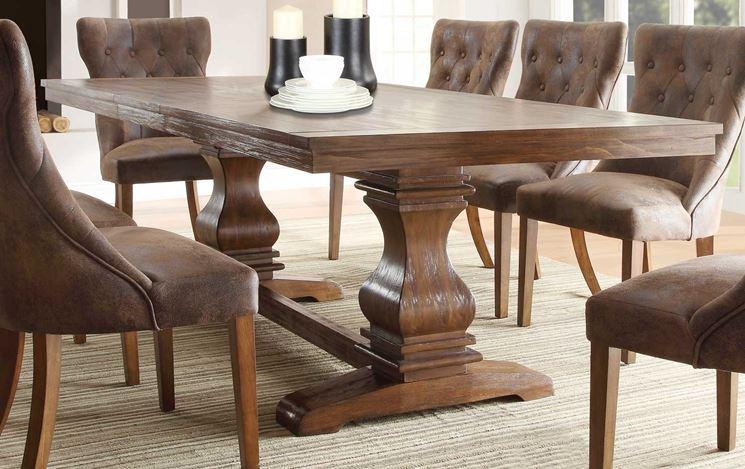 Tavoli in legno massello Tavoli Materiale tavolo