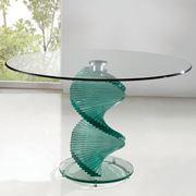 Tavolino in vetro di design