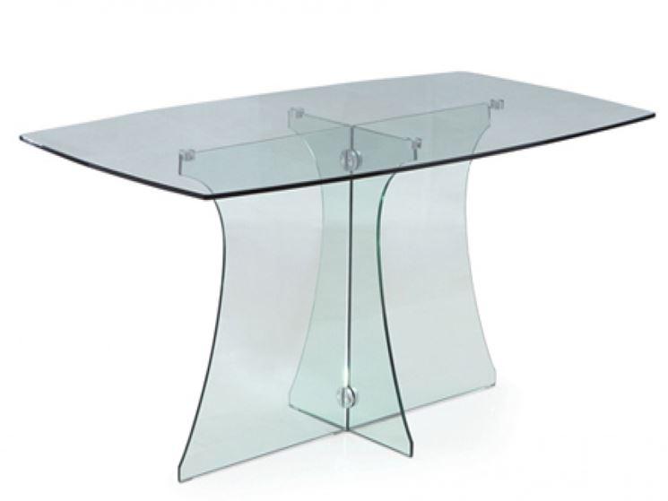 Esempio di tavoli in vetro