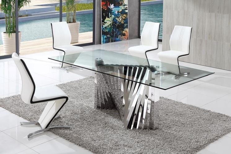 Tavoli in vetro da salotto