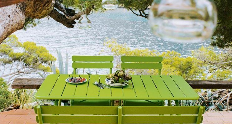 Tavolo verde