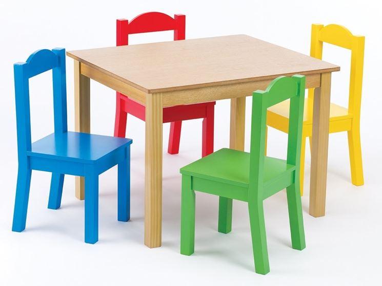 Tavolini per bambini tavoli modelli di tavolini per for Tavolo e sedia bambini