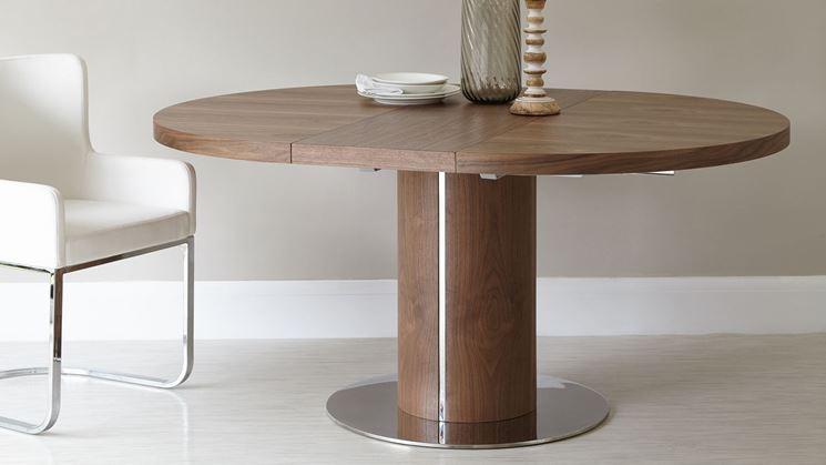 Tavolo rotondo allungabile tavoli modelli tavoli rotondi allungabili - Tavolo rotondo bianco allungabile ...