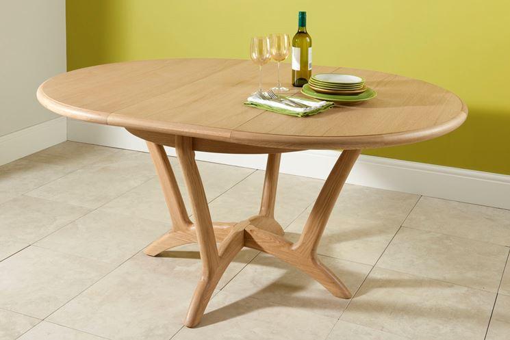 Tavolo rotondo allungabile tavoli modelli tavoli for Tavolo rotondo diametro 90