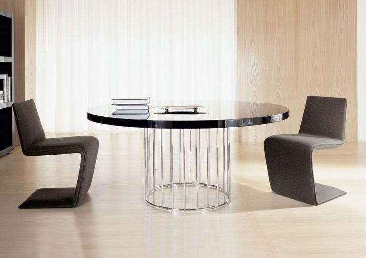 Tavolo rotondo moderno