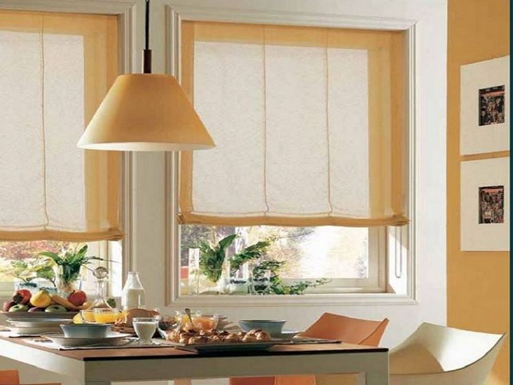 Tende cucina tendaggi per interni modelli e tipologie di tende cucina - Tendaggi da cucina ...