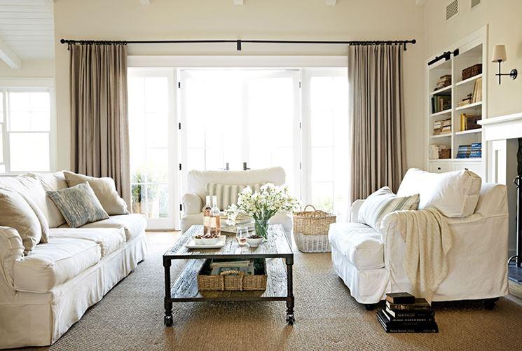 Tende da salotto - Tendaggi per interni - Scegliere le tende da ...