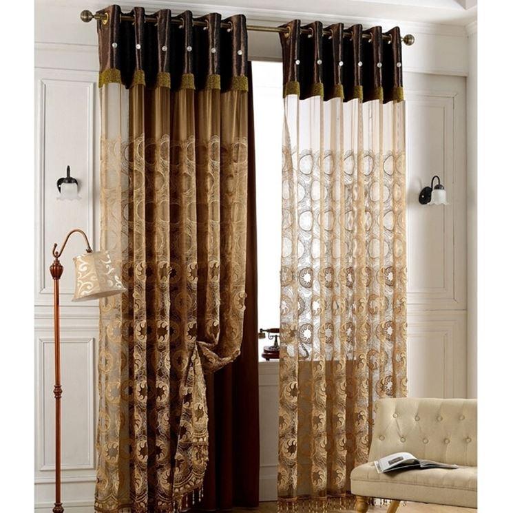 Tende da salotto - Tendaggi per interni - Scegliere le tende ...