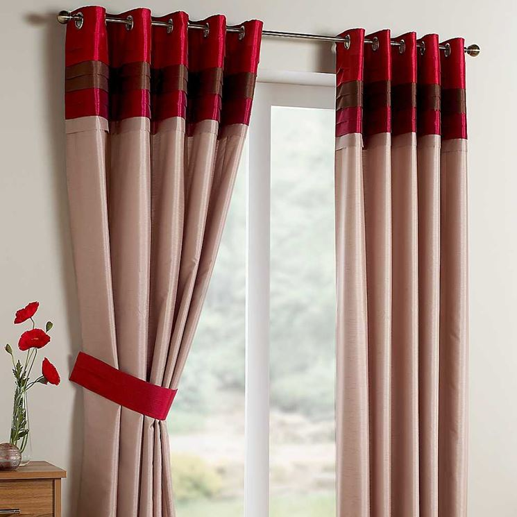 Eleganti tende per finestre