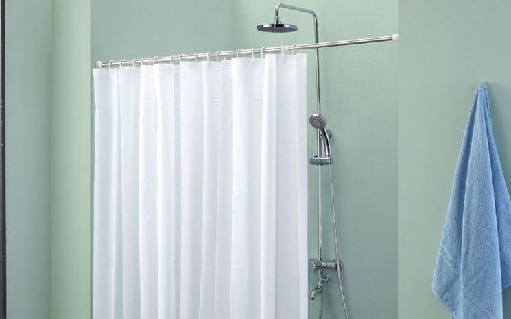 Tende per vasca da bagno with tende per bagni classici - Tende per bagno classico ...
