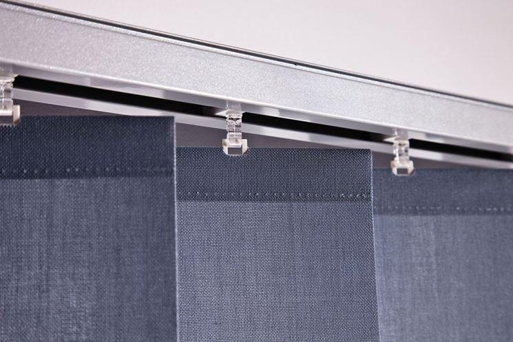 Binari per tende a pannello tende da interni varie for Ikea binario tende