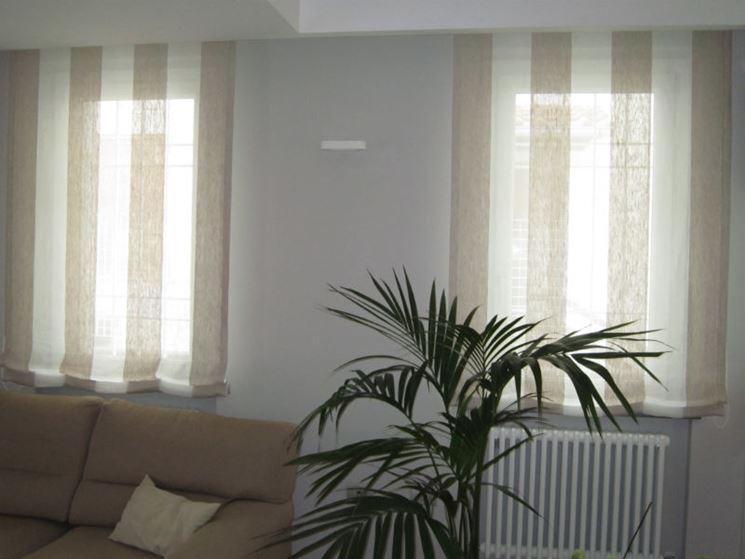 Tende a pacchetto tende da interni tende a pacchetto caratteristiche - Tendaggi camera da letto ...
