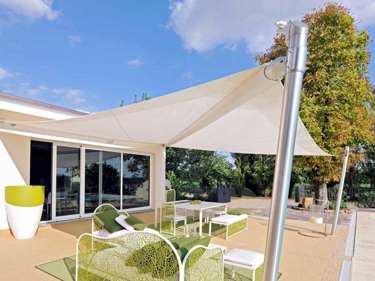 Tenda da giardino per riparare dal sole