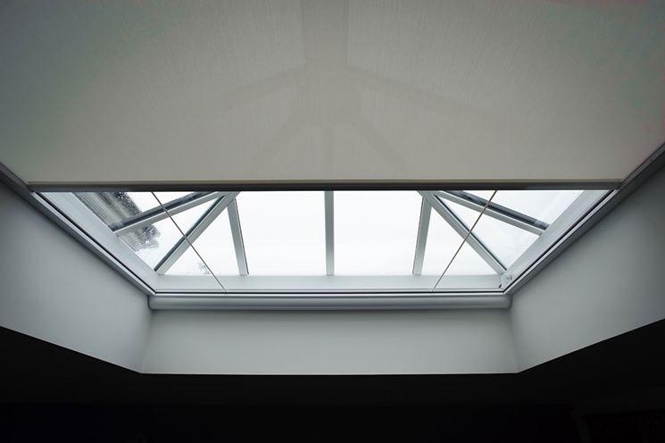 Tende per lucernari tende da interni tipi di tende per for Montaggio velux