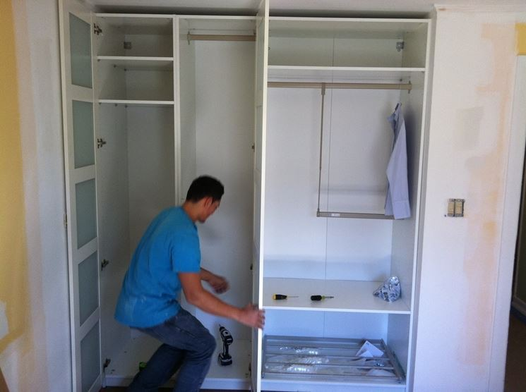 Spessore Cartongesso Cabina Armadio : Cabine armadio in cartongesso cartongesso fai da te armadio