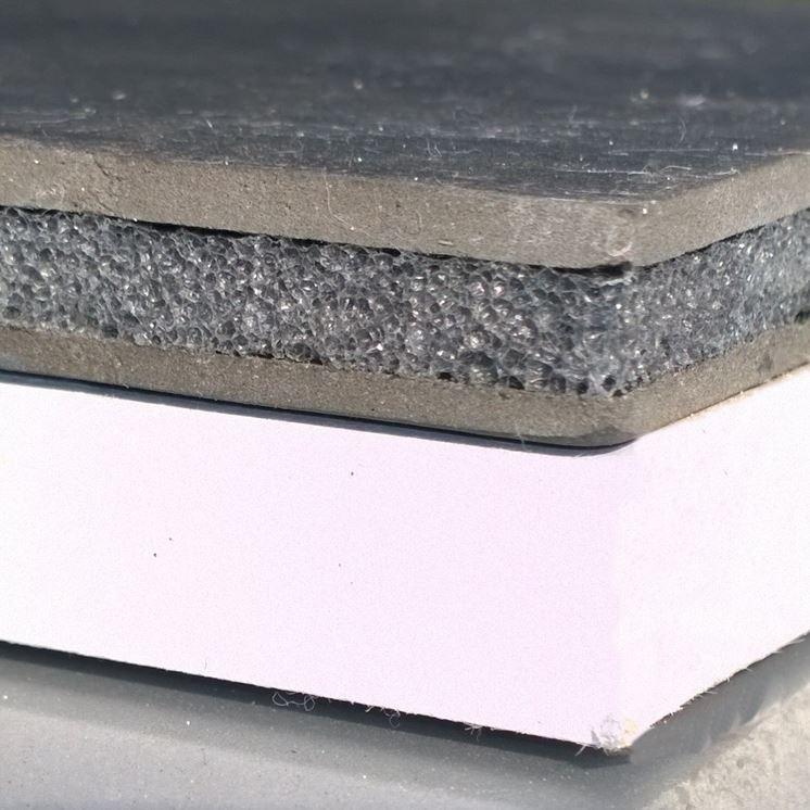 Pannello di cartongesso fonoassorbente