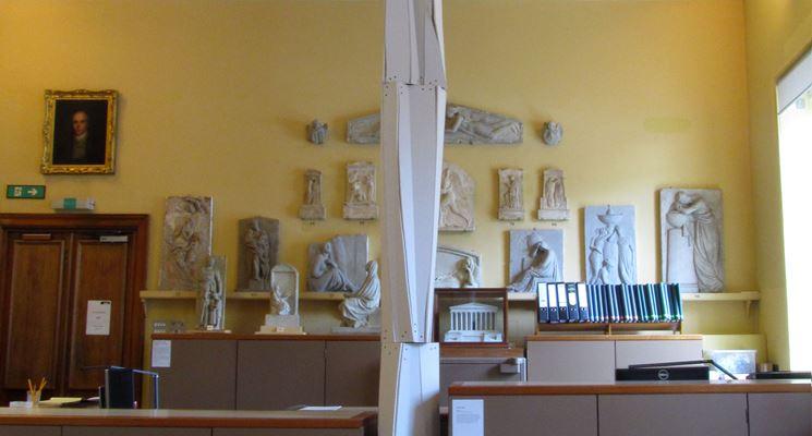 Esempio di colonne in cartongesso