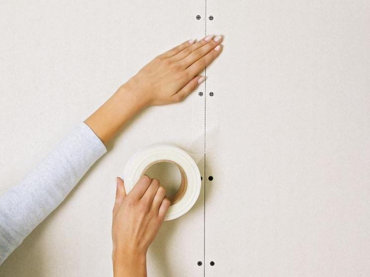 realizzare parete in cartongesso