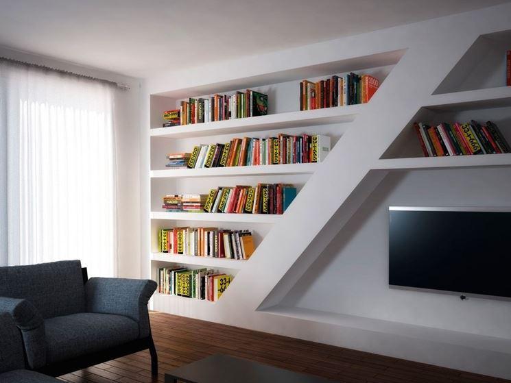 Pareti attrezzate in cartongesso cartongesso fai da te realizzazione pareti attrezzate in - Cartongesso parete attrezzata ...