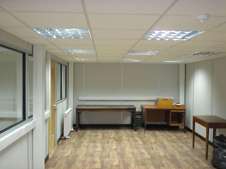 Controsoffitti ispezionabili ufficio