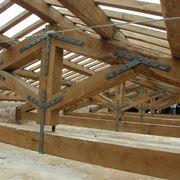 Copertura tetto in legno