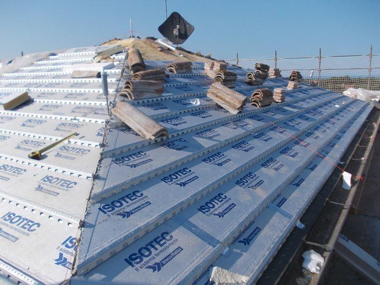 Coperture coibentate per tetti