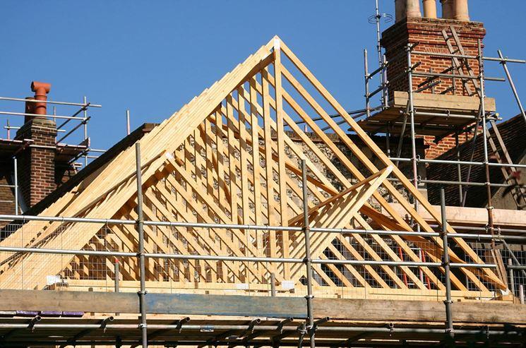 Realizzare tetto in legno
