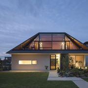 Esempio falda tetto in vetro