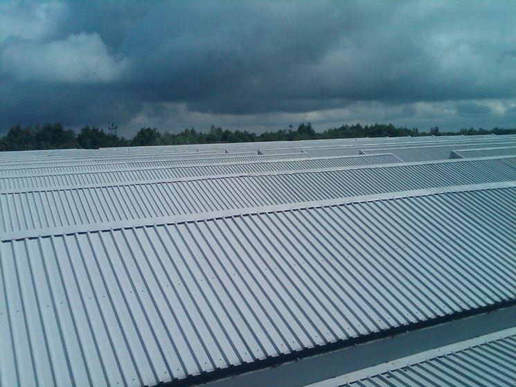 Copertura industriale in alluminio