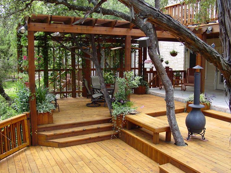 Coperture per esterno in legno