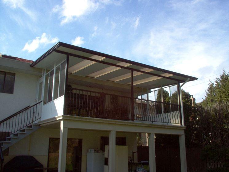 Coperture per terrazzi - Coperture tetti - Copertura terrazzo