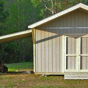 Copertura per tettoia in legno