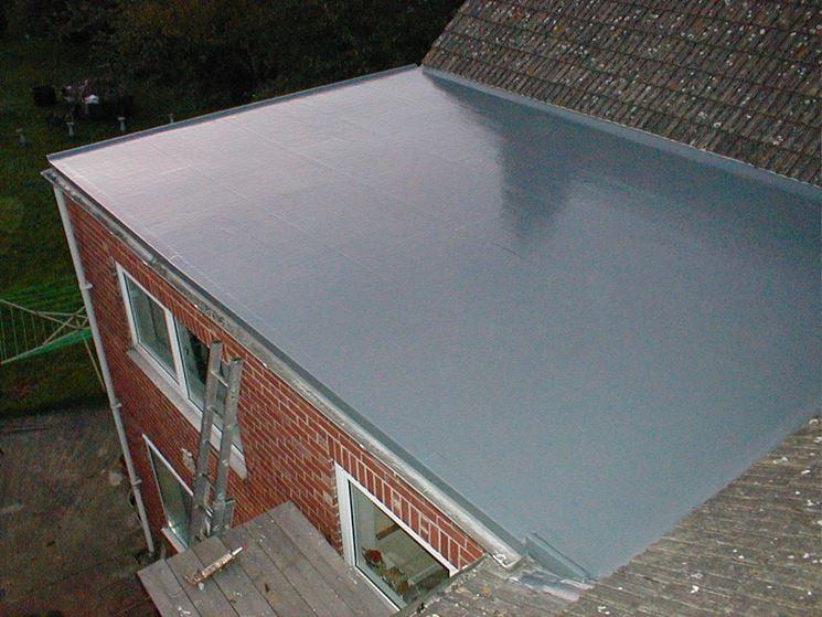 Copertura piana per tetto