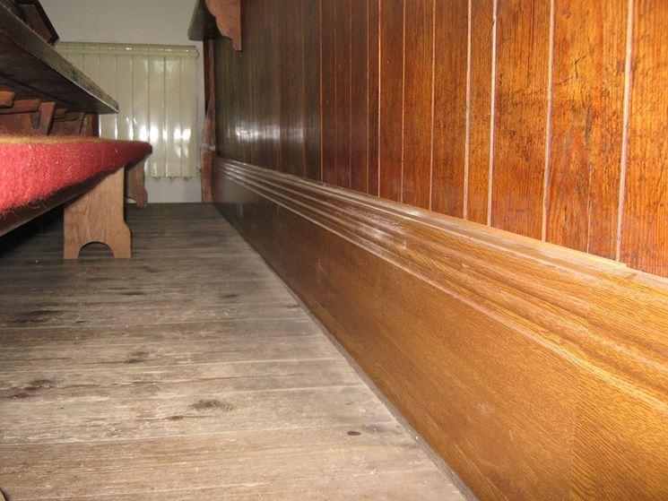 Zoccolino legno