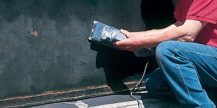 Dettaglio stesura nano pittura