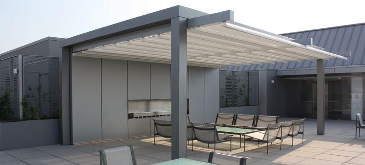 Copertura terrazzi - Il tetto - Ripari terrazzo