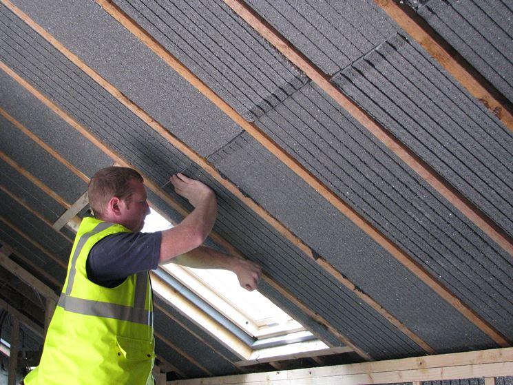 Isolamento tetto montaggio