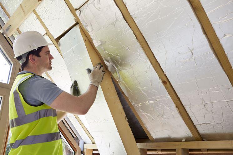 Pannelli isolamento tetto