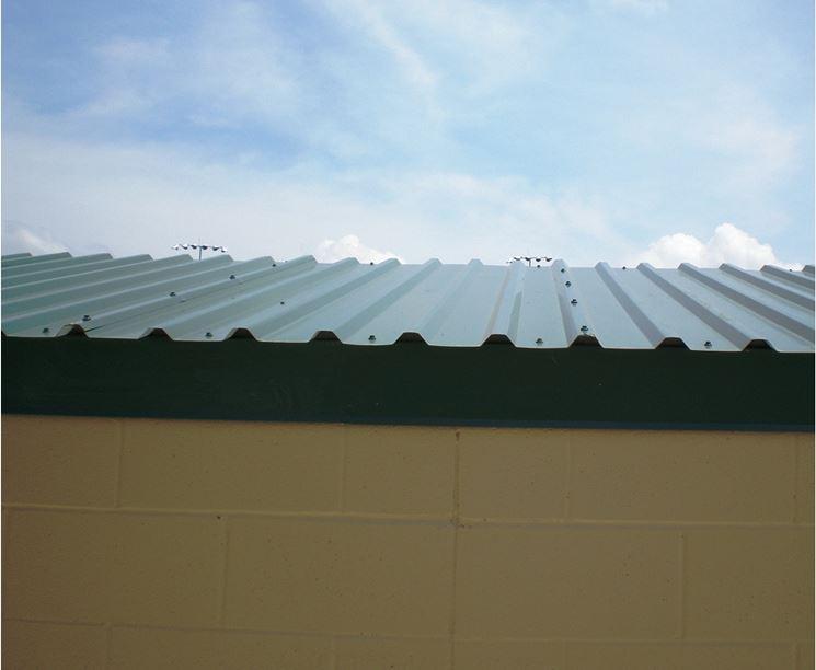 Pannelli per copertura in metallo