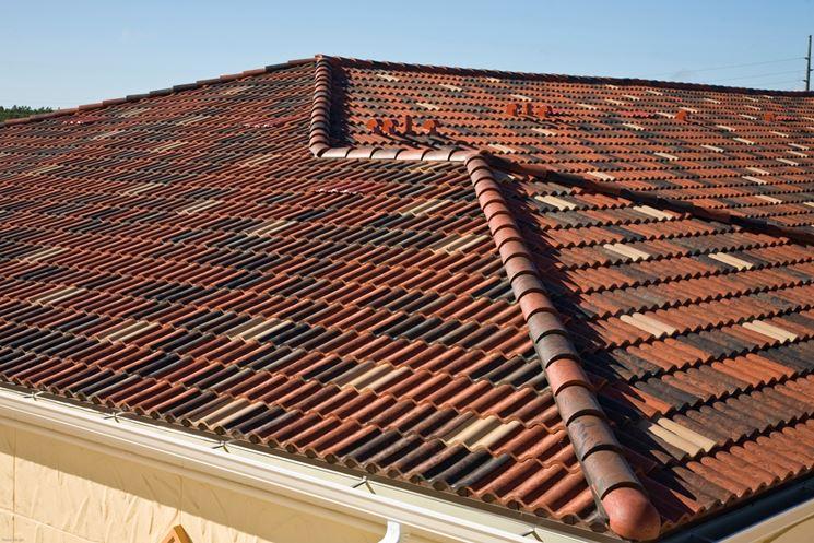 Esempio tegole tetto