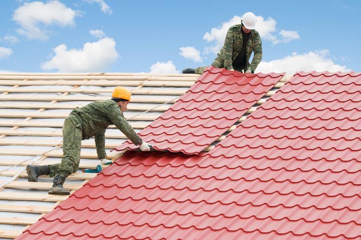 Esempio ristrutturazione tetto