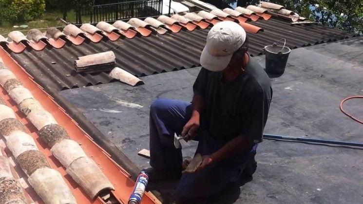 riparare il tetto