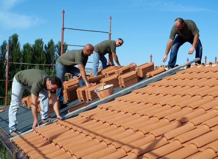 Sistemi di copertura tetti - Il tetto - Materiali per coprire tetti