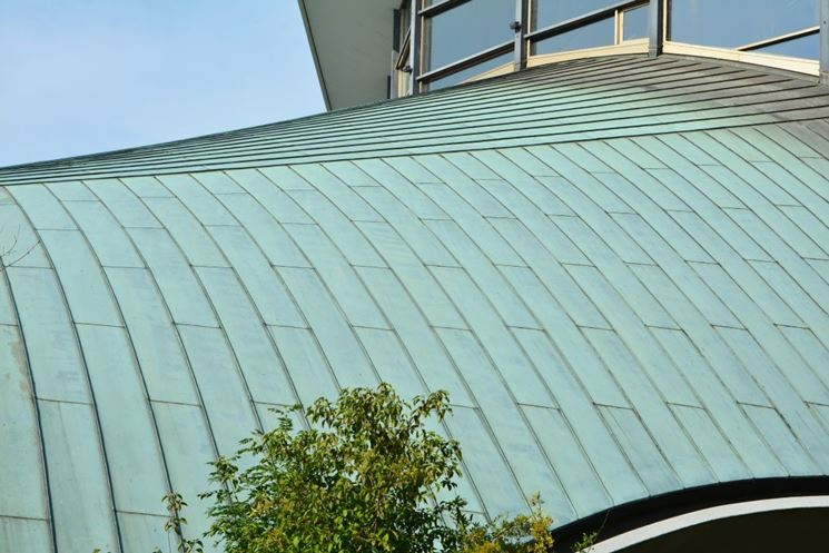 colore tetto in rame