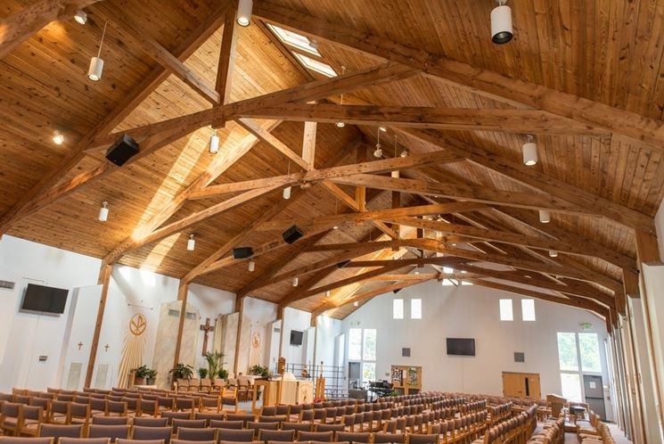 Capriata legno tetti