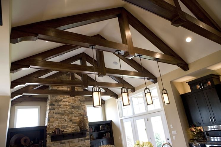 Travi in poliuretano